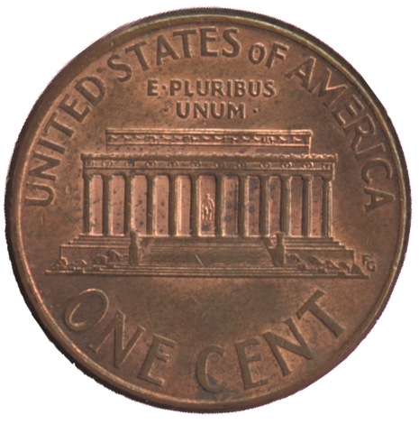 Penny cent and american history