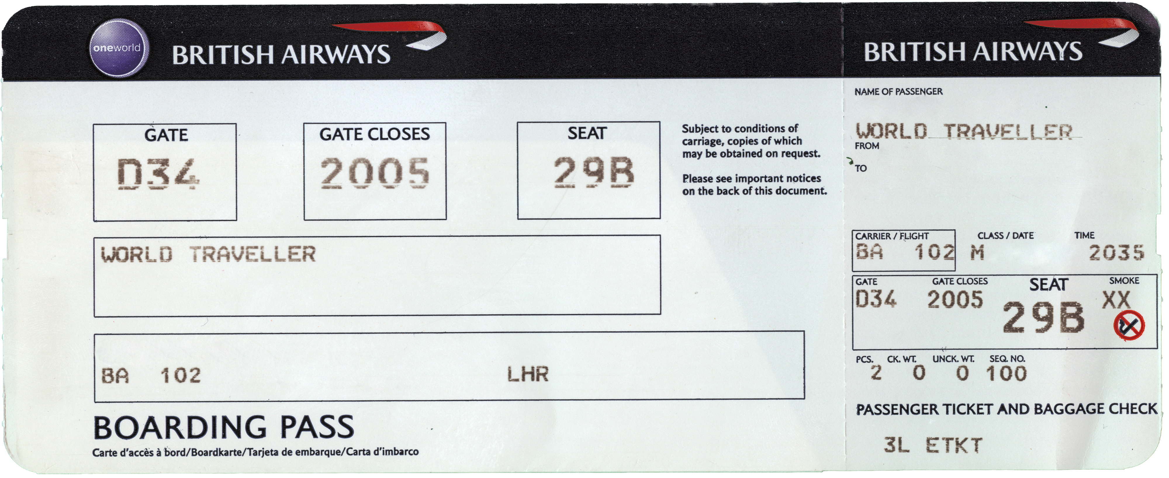 Boarding pass ticket template pronofoot35fo Image collections