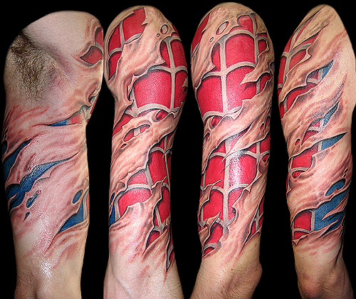 One Of The Craziest Tattoos