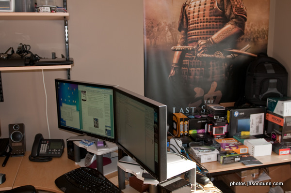 Jason's Office, January 2009