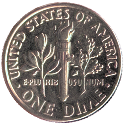 US-10-Cent-Dime-Coin-Back