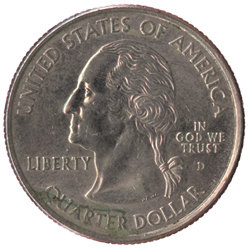 US-25-Cent-Quarter-Coin-Front