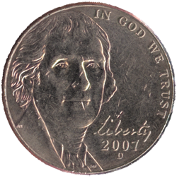 US-5-Cent-Nickel-Coin-Front