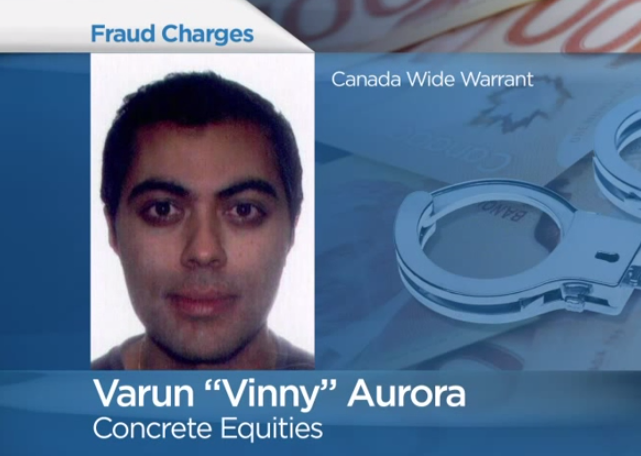 "Varun ""Vinny"" Aurora Wanted by Police"