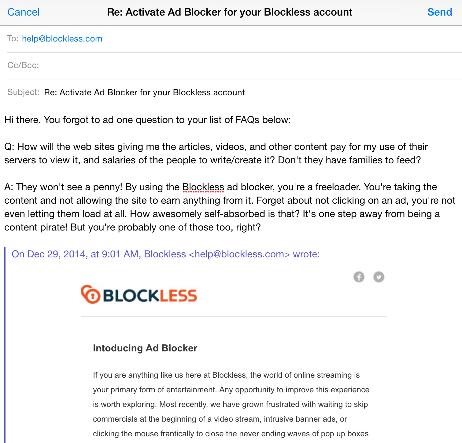 Blockless-Ad-Blocking