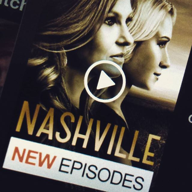 True confession time: when I go back to Canada, I watch #Nashville. It's not on Netflix USA, so it's my guilty pleasure, indulging in overly complex drama with a country music backdrop.