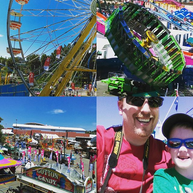 Had a blast at the #calgarystampede today with my family. We took the sky ride and took in the spectacle that is the Greatest Outdoor Show on Earth! Also, nearly melted from the sheer heat of the sun.