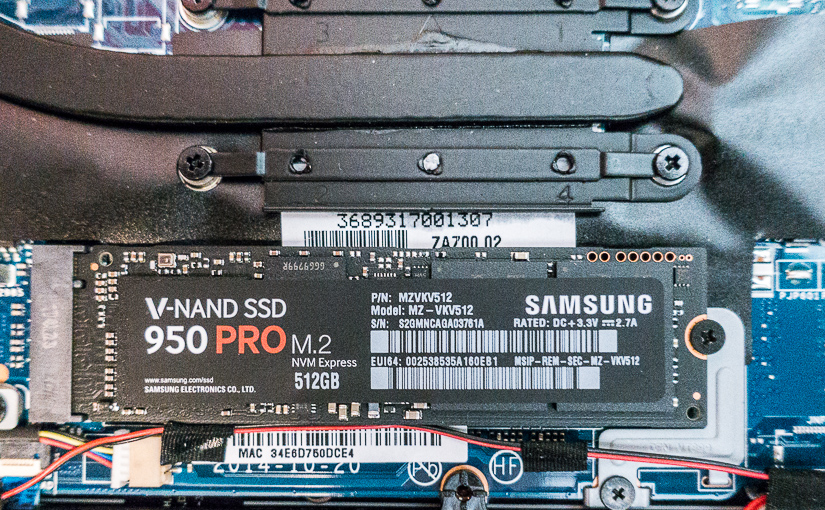 Getting Cut on the Bleeding Edge: the Samsung 950 PRO NMVe M.2 SSD & the Dell XPS 13