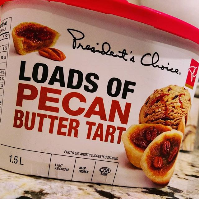When I first saw this package, my brain read it as LORDS OF PECAN, so that's what I've been calling it all week as I've been eating it. That, my friends, is an epic name for #icecream. Also, a #heavymetal band that bakes pies.