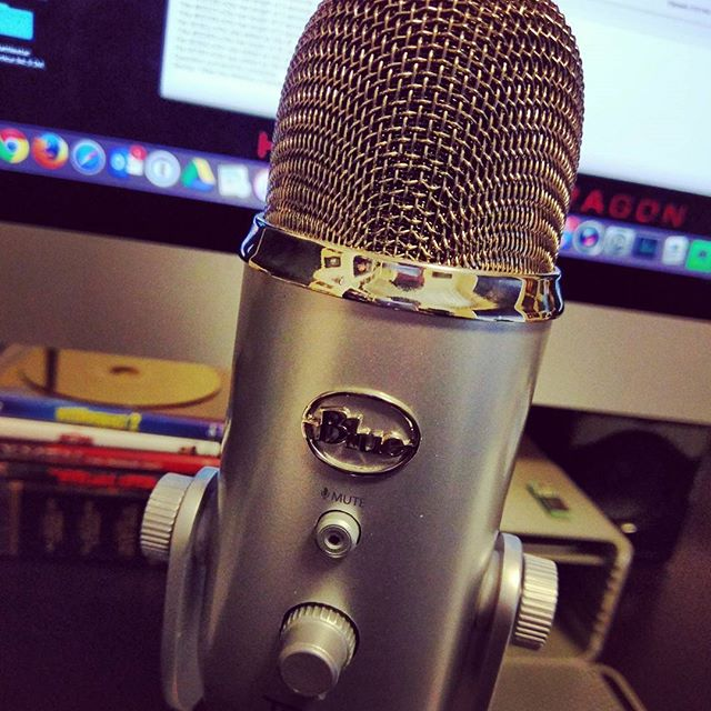 I had fun busting out the ol' #Yeti for a guest spot on a podcast. More details later!