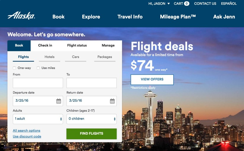 How to Combine Multiple Alaska Airlines Discount Codes Into One