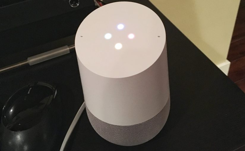 5 Quick Thoughts About Google Home