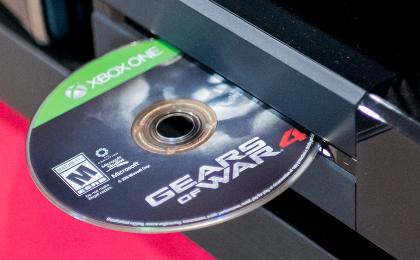Xbox One Game Discs: Gaming Like it's 2001