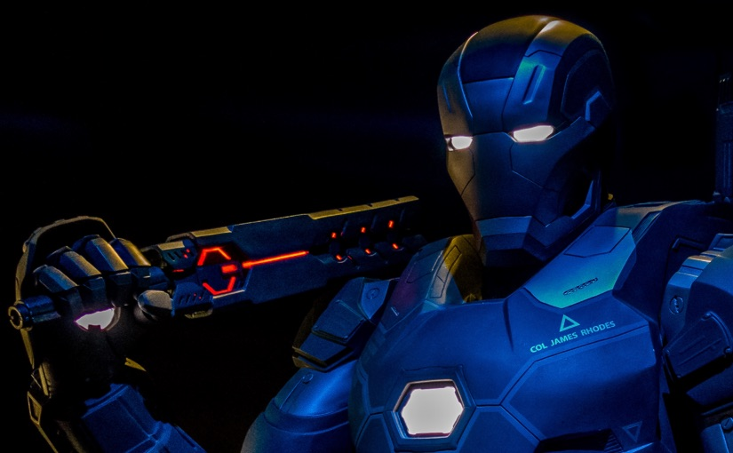 Marvel Avenger's S.T.A.T.I.O.N Iron Man War Machine Wallpaper
