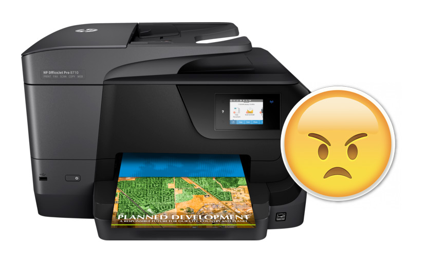 """The Maddening HP Inkjet """"First Print of the Day Blurry Problem"""": SOLVED"""